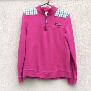 Vineyard Vines shep shirt pink check medium
